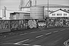 Views on The River Hull  Monochrome (brianarchie65) Tags: river hull water graffiti streetart towers tanks rust bankside monochrome blackandwhite blackandwhitephotos blackandwhitephoto blackandwhitephotography blackwhite123 blackwhiterealms flickrunofficial flickr flickrcentral flickrinternational ukflickr canoneos600d geotagged brianarchie65 unlimitedphotos ngc lapollution