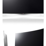 Curved OLED TVの写真