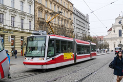 BRN_1817_201811 (Tram Photos) Tags: brno brünn strasenbahn tram tramway tramvaj tramwaj mhd šalina dopravnípodnikměstabrna dpmb škoda 03t skoda anitra astra