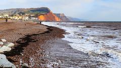 Sidmouth, Devon. (jaydee11) Tags: sidmouth devon coast beach cliffs