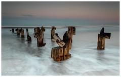 are we broken..... (Steven Peachey) Tags: seascape sunrise canon leefilters stevenpeachey tide beach coast northeastcoast northeastengland lee09gnd hitech09gnd 5dmarkiv canon5dmarkiv ef1740mmf4l hartlepool northsands steetleypier