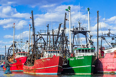 Atlantic City Fishing Fleet (captgerryhare) Tags: commercial fishing nautical sea catch catchingfish commercialfishing dragger dragnet fish industry ocean seafood trawlers vessel