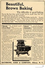 1909  Rathbone, Sard and co.   Acorn stove ad (albany group archive) Tags: early 1900s old albany ny vintage photos picture photo photograph history historic historical