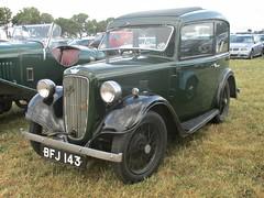 53 Austin Seven Ruby (1935) (robertknight16) Tags: austin british 1930s seven ruby edge lickeygrange chateauimpney bfj143