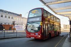 VW1566 LK55AAV (PD3.) Tags: metroline volvo wright vw1566 vw 1566 lk55aav lk55 aav white city shepherds bush westfield london shops shopping centre bus buses station england uk 607