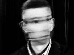 Spinning image (glukorizon) Tags: 52weeksof2018 beweging blackandwhite head hoofd langesluitertijd longexposure luc monochrome monochroom movement seethemotion selfie slowshutterspeed zelfportret zwartwit