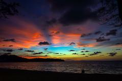 Берег, закат (mnbor51) Tags: тайланд берег океан закат