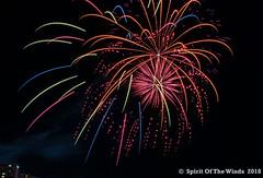 Bombs Bursting - - - - (jimgspokane) Tags: fireworks pyrotechnics spokanewashingtonstate the4thofjuly independenceday otw today´sbest