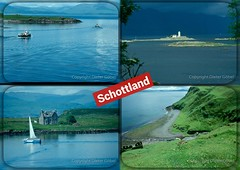 Schottland-Collage