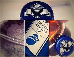 Szent András (vegeta25) Tags: szent andrás sör beer collage kitchen konyha alkohol alcohol plum szilva gold yellow blue kék sárga arany prémium kézműves
