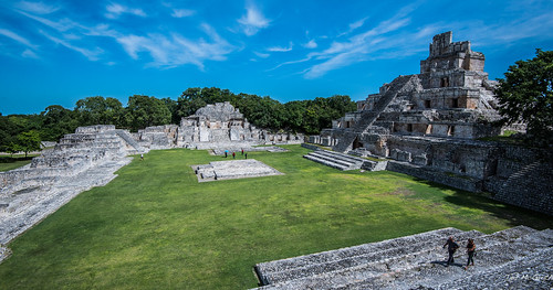 2018 - Mexico - Edzná -  Pirámide de los Cinco Pisos
