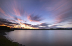 Fin du jour sur la rivière Saguenay (gaudreaultnormand) Tags: calme canada coucherdesoleil longexposure longueexposition paysage quebec rivière saguenay