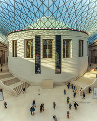 The Great Court (Rich Walker Photography) Tags: british museum court foster architecture historic history buildings building london canon efs1585mmisusm england eos eos80d panorama