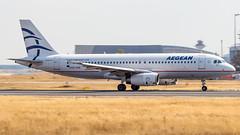 Airbus A320-232 SX-DGR Aegean Airlines (William Musculus) Tags: airplane plane aviation airport spotting fra frankfurt am main rhein frankfurtmain fraport eddf sxdgr aegean airlines airbus a320232 a3 aee a320200 william musculus