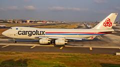 "Cargolux Boeing B747-400F LX-VCV ""City of Walferdange"" Mumbai (VABB/BOM) (Aiel) Tags: cargolux boeing b747 nitincargoluxboeing b747400 b747f b747400f lxvcv cityofwalferdange walferdange mumbai canon60d canon24105f4lis"
