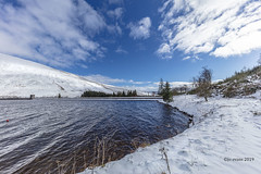 Snow No 3.   Explore 4.2.19 (Jo Evans1) Tags: snow brecon reservoir blue skies beautiful excited