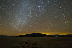 Geminid Meteors Over Death Valley Dunes 2018 (Jeff Sullivan (www.JeffSullivanPhotography.com)) Tags: death valley national park geminid meteor shower astrophotography astronomy nationalpark california usa eastern sierra landscape nature travel night photography canon eos 5d mark iv photo copyright 2018 jeff sullivan december