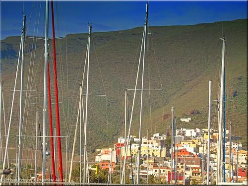 La Gomera 2018 - Blick auf San Sebastian