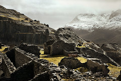 Dinorwic fades (PentlandPirate of the North) Tags: dinorwic dinorwig slate quarry snowdonia ruins derelict gwynedd northwales