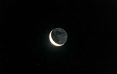 Earthshine Jan 2 (nicklucas2) Tags: astrophotography moon earthshine albedo moon2019