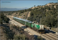 Monte del Pardo. (pazalberto269) Tags: alsa spain historico trainspotting tracks trainspotter 310 adif nikon natural photography