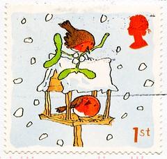 beautiful xmas stamp Great Britain 1st (Scarlet Robin, Petroica boodang, мали́новка, Rotbrust-Rotkehlchen, 緋紅鴝鶲, Miro boodang, pardillo) navidad sello noel timbre Great Britain United Kingdom stamps jul frimerker poste-timbres Grande-Bretagne sellos selos (stampolina, thx for sending stamps! :)) Tags: petroicaboodang scarletrobin rotkehlchen 緋紅鴝鶲 miroboodang robin bird vogel oiseau пти́ца 鸟 ptak мали́новка pardillo stamps 切手 briefmarken スタンプ postzegel марки टिकटों แสตมป์ znaczki 우표 frimærker frimärken frimerker 邮票 طوابع francobollo francobolli postes timbres sellos selos razítka γραμματόσημα bélyegek markica маркица pulları tem perangko gb uk unitedkingdom greatbritain england grossbritannien xmas christmas birds vögel winter snow schnee vogelhäuschen birdfeeder