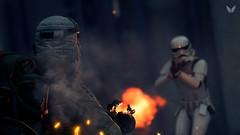 Rebellion (Sky Infinity) Tags: star wars battlefront 2 lightroom adobe cc light saber video games jeux darth maul leia stormtrooper