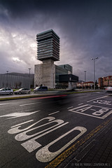 SOLO | Brutalist BEC | Bilbao | Pais Vasco | Euskadi (zzapback) Tags: bilbao bilbo paisvasco baskenland euskadi spain spanje espana espanha basquecoutry bec brutalist architecture architectuur nikon d810 z105 cokin polarizer le barakaldo urban