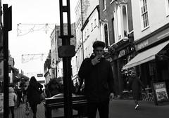 Dark Days (Bury Gardener) Tags: monochrome mono burystedmunds bw blackandwhite britain nikond7200 nikon england eastanglia uk 2019 people peoplewatching folks suffolk streetphotography street streetcandids snaps strangers candid candids abbeygatestreet