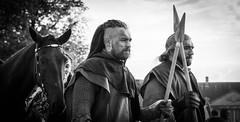 (Simon BOISVINET) Tags: 2016 caen chateau film tournage movie castle blackandwhite makingof