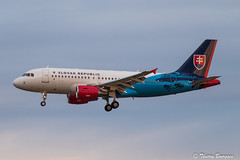 [ORY] Slovakia - Government Airbus A319-115CJ _ OM-BYA (thibou1) Tags: thierrybourgain ory lfpo orly spotting aircraft airplane nikon d810 tamron sigma slovakgovernment a319115cj ombya slovakrepublic landing bratislava airbus airbusa319 a319 november11thcommemorations
