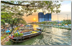 tết 2018 (Huy Thoai Photographer) Tags: city architecture building urban vietnam sunrisedawn cityscape sunset backgrounds beauty coastline dawn fantasy horizon island landscape nature reflection tourism finance business sun harbor bright river riverbank boat apricot confetti exoticism farmersmarket flower flowermarket freshness hochiminhcity indochina marina punting selling springtime yellow dock pollution saigon tet binhdongwharf boatlanding flowerboat riversidecounty lunarnewyear