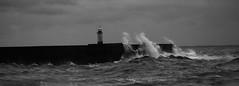 IMG_4697 (saundersfay) Tags: waves sea rough lighthouse light water foam