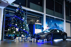 Dear Santa (SavinAleksandar) Tags: bmw i8 santa new year