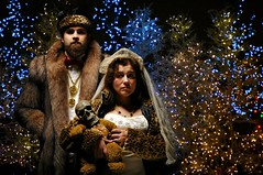 The Secret Christmas Wedding of Langston and Victoria (Studio d'Xavier) Tags: thesecretchristmasweddingoflangstonandvictoria wedding bride portrait christmas