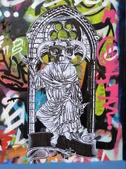 Trollux2luxe / Bruxelles - 22 dec 2018 (Ferdinand 'Ferre' Feys) Tags: bxl brussels bruxelles brussel belgium belgique belgië streetart artdelarue graffitiart graffiti graff urbanart urbanarte arteurbano ferdinandfeys trollux2luxe pasteup wheatpaste