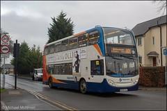Stagecoach MX56FSL (Mike McNiven) Tags: stagecoach manchester alexanderdennis merseyside mcsl wythenshawe baguley interchange hollyhedgeroad piccadilly piccadillygardens gardens mardenroad newallgreen enviro400 enviro bus doubledecker adle400
