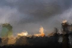 cityscape (donvucl) Tags: london urbanlandscape urban cityscape sky clouds distortion diffusedlight colour fujixt3 donvucl