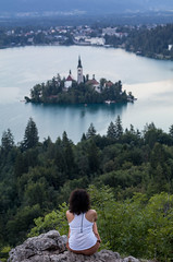 Bled (dmaldonadodelmoral) Tags: atardecer bled canon eslovenia europe lago lakebled landscape landscapes naturaleza nature slovenia slovenija sunset travel travelblog viajes water radovljica si