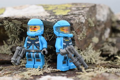 ADU Troopers. (Working hard for high quality.) Tags: minifigure lego soldier defence rock focus photography scenes characters troopers