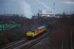 Passing The Baton... (marcus.45111) Tags: colasrail networkrail 67023 67027 rotherhammasbrough train railway flickr flickruk 2018 1q02