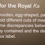 King Tutankhamun's tomb goods: preserved meat boxes label DSC_0923 thumbnail