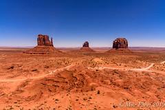 Monument Valley Pike (BFS Man) Tags: arizona d750 monumentvalley nikon mountain road rock sky