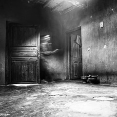 at the slow speed of mystery~ Morocco (~mimo~) Tags: morocco marrakech atlas mountains home berber blur mystery black white mimokhairphotography square format absoluteblackandwhite