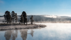Misty Yellowstone River ((JAndersen)) Tags: frost mist haydenvalley yellowstone yellowstonenationalpark wyoming usa yellowstoneriver water landscape nikon nikkor2470mmf28ged d810