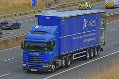 FN15 FYX (Martin's Online Photography) Tags: scania r410 truck wagon lorry commercial vehicle a1m fairburn northyorkshire nikon nikond7200
