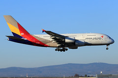 Asiana Airlines  Airbus A380-841 HL7634 (widebodies) Tags: frankfurt main fra eddf widebody widebodies plane aircraft flughafen airport flugzeug flugzeugbilder asiana airlines airbus a380841 hl7634