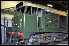 No D5631 21st Nov 2018 North Norfolk Railway Weybourne (Ian Sharman 1963) Tags: no d5631 21st nov 2018 north norfolk railway weybourne 31207 class 31 diesel engine rail railways train trains loco locomotive heritage line poppy sheringham nnr