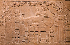 Assyrian art at the British Museum (archidave) Tags: ashurbanipal britishmuseum assyria assyrian art relief sculpture