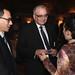 Glenn Hamer & Booky Oren with attendee